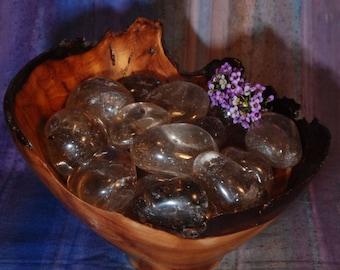 1 SMOKY QUARTZ Tumbled Stone - Smoky Quartz Crystal, Smoky Quartz Stone, Tumbled Smoky Quartz, Smoky Quartz Gemstone, Smoky Quartz Healing