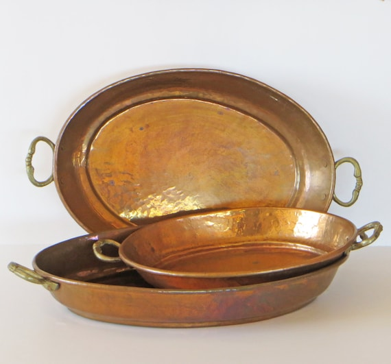 Vintage Copper Pans 89