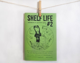Shelf Life zine, Issue 2 - The Pleasures & Perils of the Book Sale / Bibliophiles in Beach Read Country