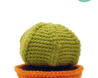Easy crochet pattern - Cactus amigurumi pattern, Cactus pincushion, Crochet plant pattern
