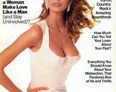 Cosmopolitan Magazine Niki Taylor Cover 1993  Billy Ray Cyrus  Fabio  Liza Minelli