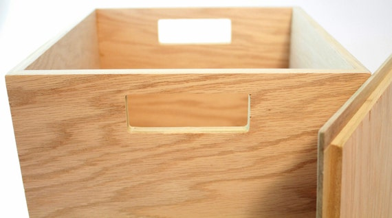 wooden storage box with lid and handles playroom box baby toy. Black Bedroom Furniture Sets. Home Design Ideas