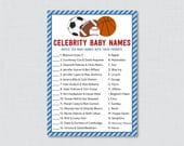 Sports Themed Baby Shower...