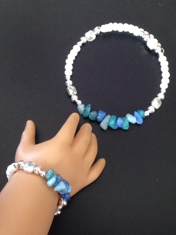 Matching bracelets for girl and doll American by ...