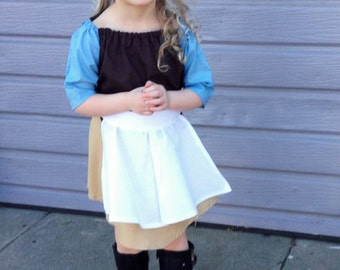 Cinderella's work dress and apron