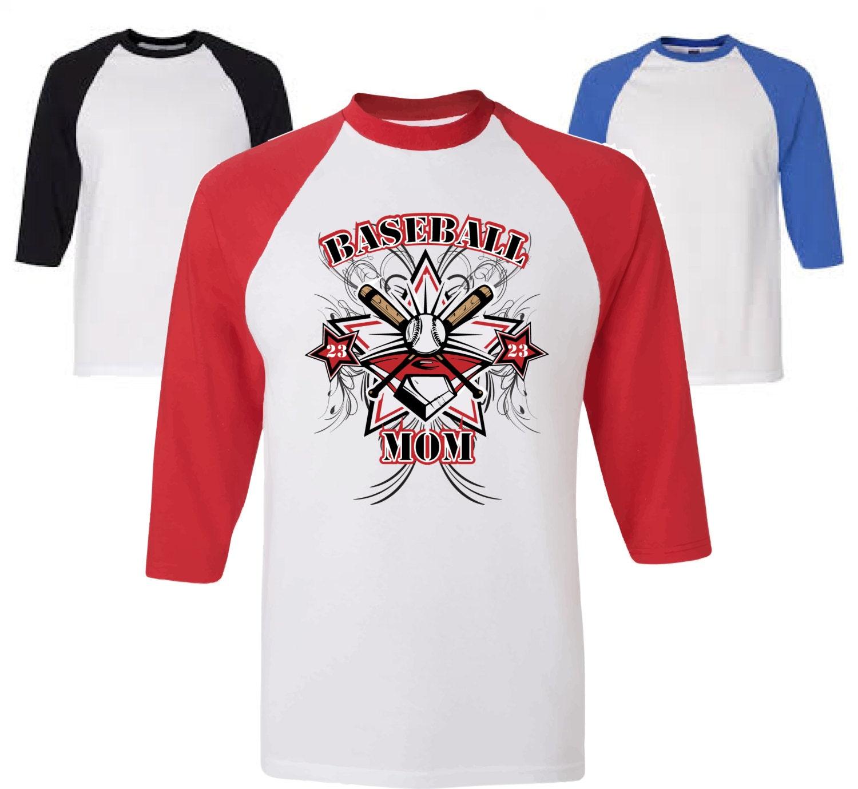 Baseball mom shirt personalized baseball mom shirt for Custom personal trainer shirts