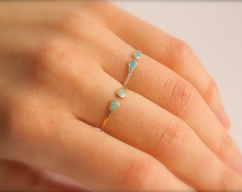 Gold Turquoise Ring. Gold Turquoise Rings. Sterling Silver Turquoise Ring. Turquoise Ring. Turquoise Rings. Open Ring. Open Silver Ring.