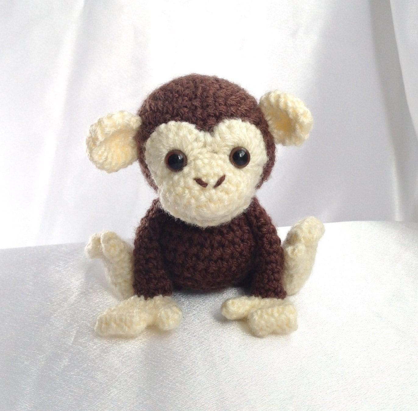 Kawaii Monkey Amigurumi : Amiani Maurice the Monkey amigurumi cute stuffed animal