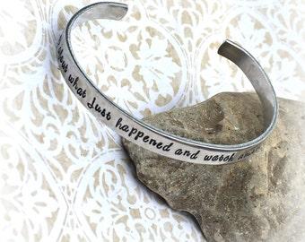 Serenity Prayer - Prayer bracelet - Nurses Prayer - Prayer Box - Forget me not jewelry - Forgiveness - Forgiven - Let it go bracelet - Love