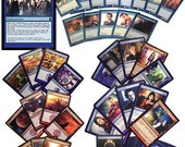 Doctor Who: Time & Space Magic Trading Cards - Complete Playable Deck of 88 Cards