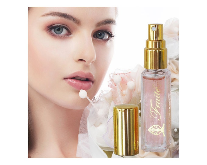 Perfume Fruité by Florencia; Natural Fragrance Oils; Fruity Floral Fresh Light Fragrance for Women; Florencia Collection Life is Beautiful