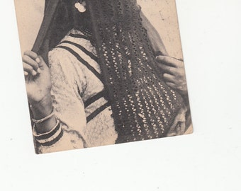 1900s Lot Of 2 Traditional and native Egyptian Women.
