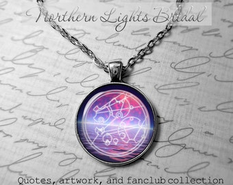 Doctor Who Custom Gallifreyan Necklace Doctor who jewelry PERSONLALIZED name timelord companion time lord Your name in galifreyan jewelry
