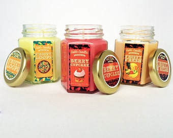 Frutalicious Gift Set Of 3 Scented Soy Candles | Perfect Gift Idea from Fable Candles
