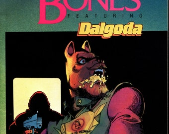 Alan Moore The Bojeffries Saga FLESH and BONES Color Comics Set of #1-4 1986 Upshot Graphics Fantagraphic Books Dalgoda by Fujitake