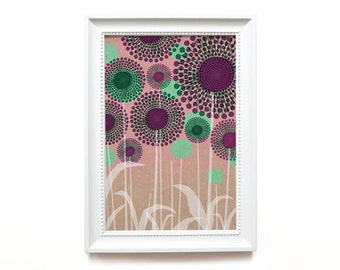 Art print | Allium