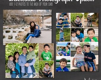 Card Add On - Add a Back side with Photographs