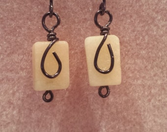 Natural Stone with wire wrapping