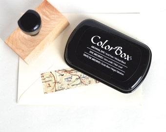 Black Ink Pad, Wicked Black Colorbox Ink Pad, Black Stamp Pad, Rubber Stamp Pad
