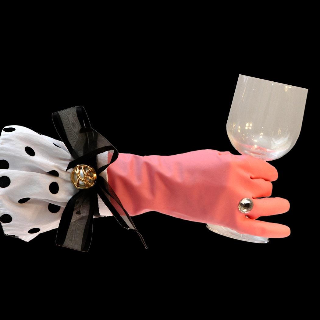 un plat de gants de nettoyage gants de vaisselle gants de. Black Bedroom Furniture Sets. Home Design Ideas