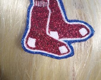 Boston Red Sox barrette 2