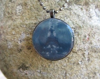 Tower Base at Night Necklace