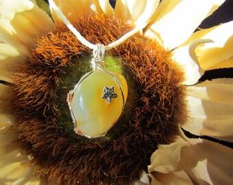 Oregon Coast Star Agate Necklace