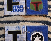 Custom STAR WARS Name Book, Cloth: Unique Keepsake. Great Baby Shower or First Birthday Gift! Baby Christmas Gift! Toddler Christmas Gift!
