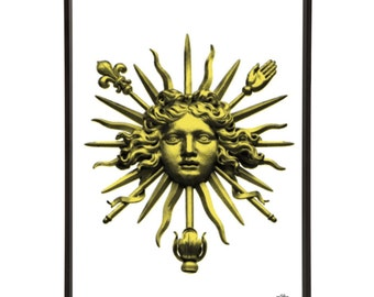 Versailles Sun King Palace Gates Pop Art Print