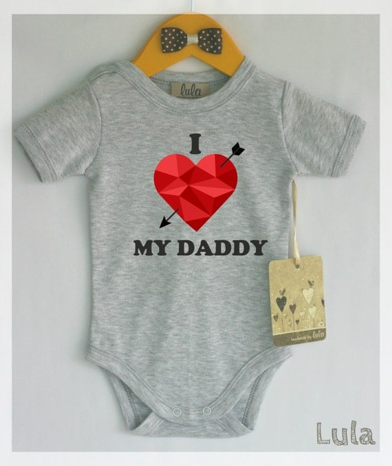 I Love My Daddy Onesie®, Hipster Baby Clothes, Dad Onesie, Baby Boy Clothes, Unisex Baby Clothes, Gifts for Dads, Love Onesie, Father's Day BittyandBoho. 5 out of 5 stars Custom Infant I Love Daddy Onesie/I Love Daddy Bodysuit/New Dad Gift/Baby Shower Gift/New Baby Gift/Baby Announcement Onesie/Father's Day.