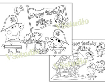 Daniel Tiger Birthday Party coloring pages Daniel Tiger Party