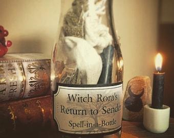 RETURN TO SENDER Spell-in-a-Bottle