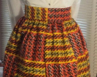 Akara African skirt with two Pocket