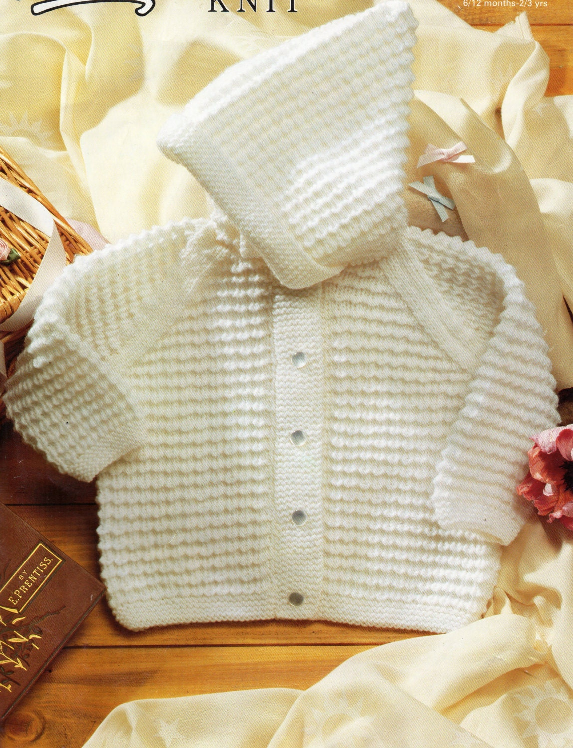 Knitting Pattern Baby Hooded Jacket : Baby Knitting Pattern baby hooded jacket baby hooded cardigan