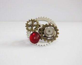 Clockwork, Steampunk Ring