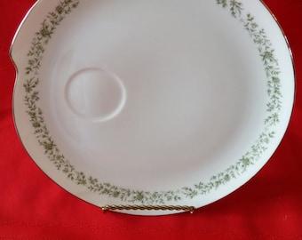 Mikasa Montclaire Snack Plates, 4 Plates