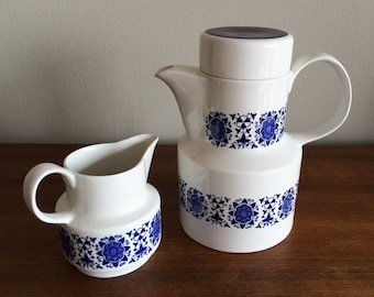 Mid Century Tea or Coffee set by Arklow Pottery