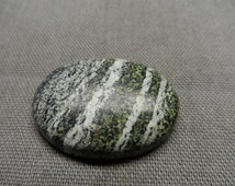 Green Swiss Opal Cat's Eye 100% Natural Gemstone  Cabochan Good Quality