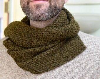 Trevor - Seed Stich Wool Scarf