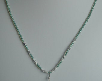 Mother of Pearl and Abalone Necklace