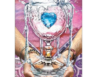 Ace of Cups - Tarot Fine Art Print