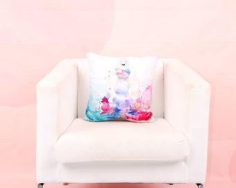 Sleeping Beauty - the throw pillow