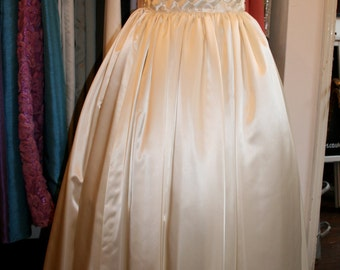 Vintage Hand Made Wedding Dress