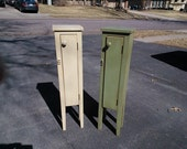 Petite Bathroom Storage Cabinet, Bed Side Table or Plant Stand, Great storage for all your favorite things