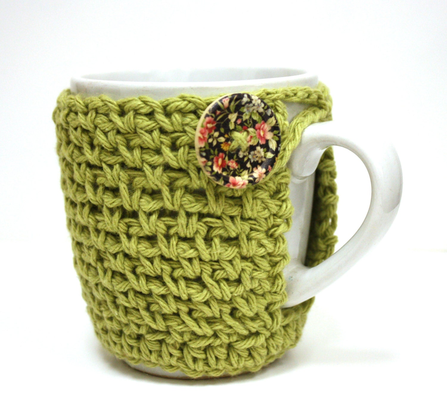 Crochet Coffee Cup Cozy Cup Cozy Sleeve Novelty by Sweetbriers