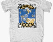 Doom Ritual CALIFORNIA DOOM T-Shirt  by Print Mafia®