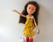 MadeUnder Doll // Annie the homesteader // with Accessories - One of a Kind, Upcycled, Re-painted, ready for love!