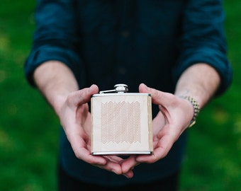 Flask | Wooden TIDES Design