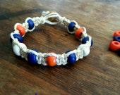 NY Mets Hemp Bracelet