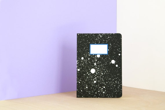 Galaxy notebook / journal / diary - A5 - 64 Pages Ruled